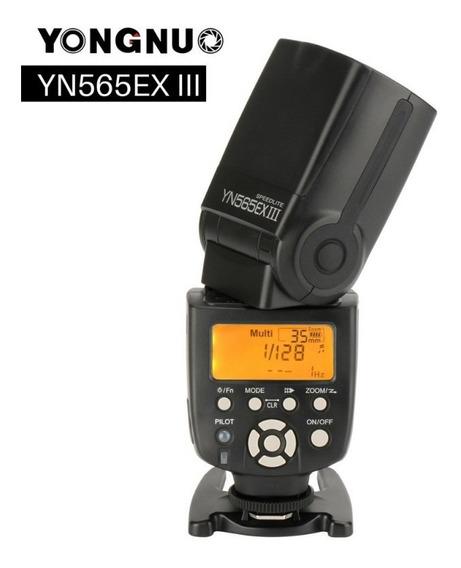 Flash Yongnuo Yn565ex Iii Speedlite Para Canon