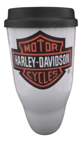 Imagem 1 de 3 de Copo Draft Em Acrílico Motor Harley Davidson Cycles