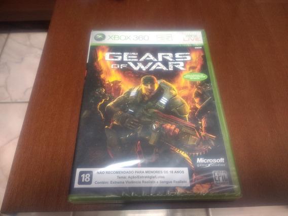 Gears Of War Do X Box 360 Novo Lacrado Mídia Física Original