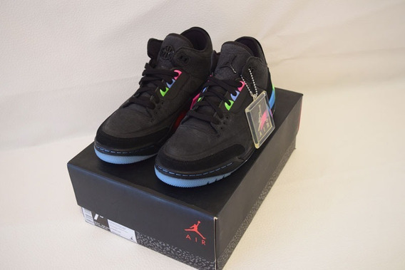 Air Jordan Retro 3 Quai 54 #25.5 Nuevo Con Caja.