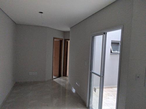 Imagem 1 de 25 de Apartamento Com 2 Dormitórios À Venda, 37 M² Por R$ 244.000,00 - Parque Erasmo Assunção - Santo André/sp - Ap5955