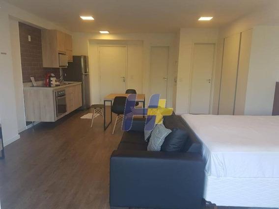 Apartamento Com 1 Dormitório À Venda, 54 M² Por R$ 810.000 - Brooklin - São Paulo/sp - Ap0887