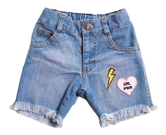 Short Para Niña Bambino Grl Pwr