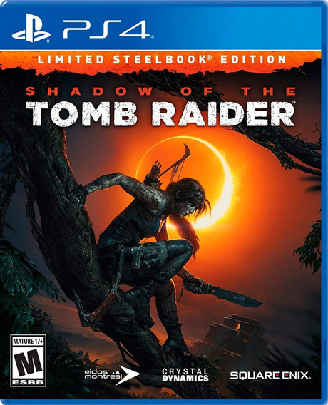 Shadow Of The Tomb Raider Limited Steelbook Edition En Ps4