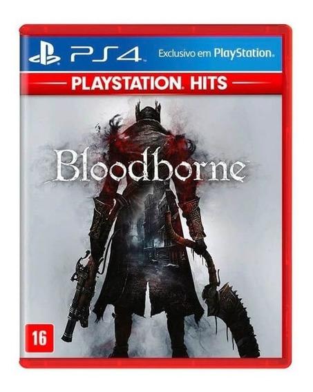 Jogo Bloodborne Mídia Física Ps4 Playstation Hits Original