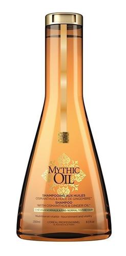 Imagen 1 de 1 de Shampoo Nutritivo Cabellos Finos Mythic Oil 250 Ml
