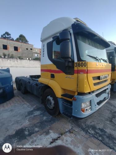 Imagem 1 de 15 de Iveco Stralis 410 2010 6x2 Baixo Km