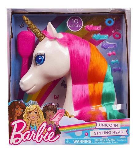 Barbie Unicornio Peinados Y Accesorios Mágicos Liquidación