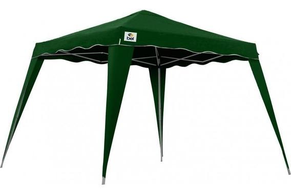 Tenda Gazebo Dobrável 3 X 3 Poliester Aluminio Verde