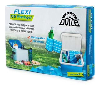 Flexi Ice Pack Gel Celeste Doite