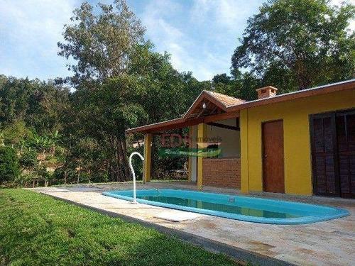Imagem 1 de 10 de Chácara Com 4 Dormitórios À Venda, 1000 M² Por R$ 380.000,00 - Freitas - São José Dos Campos/sp - Ch0729