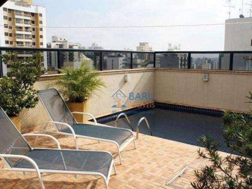 Imagem 1 de 22 de Cobertura Duplex Com 4 Suites E Piscina Individualà Venda, 345 M² Por R$ 2.300.000 - Perdizes - São Paulo/sp - Co1348