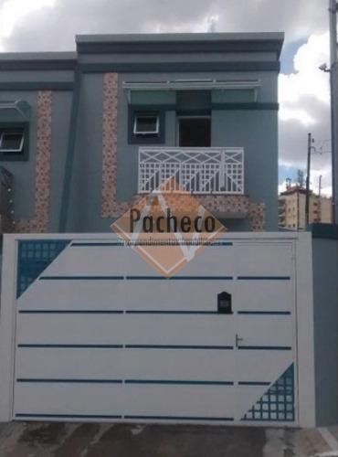 Sobrado Na Ponte Rasa, 68 M², 2 Dormitórios, 2 Vagas, R$ 375.000,00 - 1584