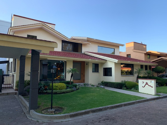 Hermosa Casa 3 Cuartos 41/2 Baños En Cond Privado C/alberca