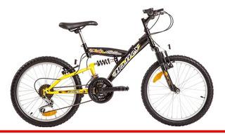 Bicicleta Halley 16335 Full Suspension Rodado 20 Selectogar6