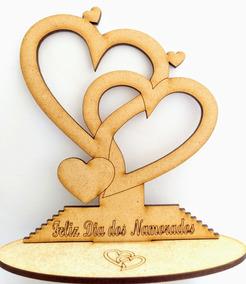 Dia Dos Namorados, Lembrançinha Em Mdf