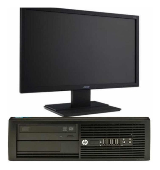Computador Hp I3 4g Hd 500 Monitor 19