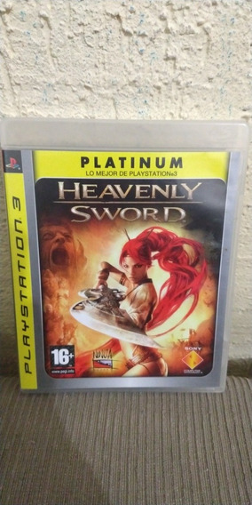 Jogo Heavenly Sword Platinum Mídia Física Ps3
