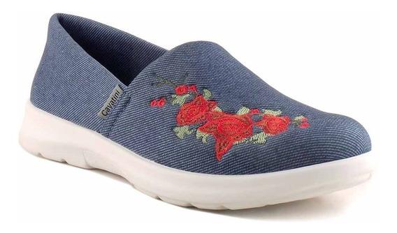 Zapatilla Zapato Mujer Cavatini Confort Briganti - Mczp05231