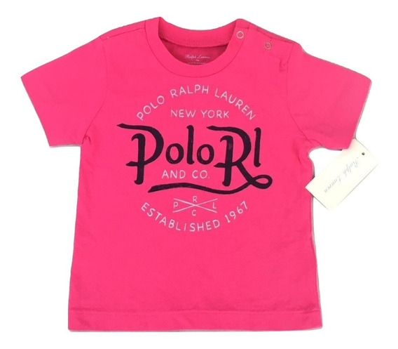 Camiseta Importada Ralph Lauren Baby Kids Original