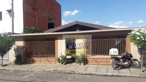Casa Com 3 Dormitórios À Venda, 262 M²  - Jardim São Manoel - Nova Odessa/sp - Ca4218