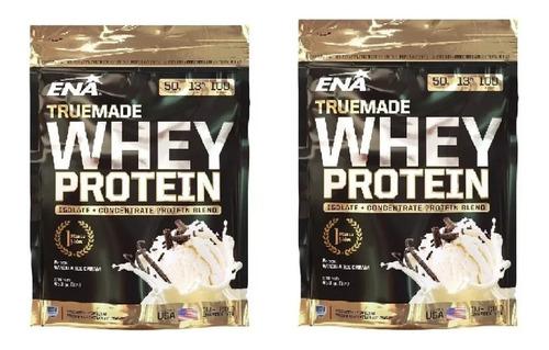 True Made Whey Protein X453gr Ena X 2 Unidades Mundo Gym