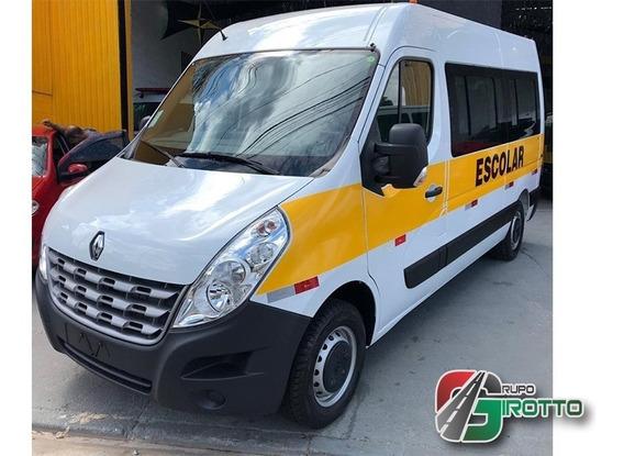 Renault Master Escolar L2h2 Branco 2020 A Pronta Entrega