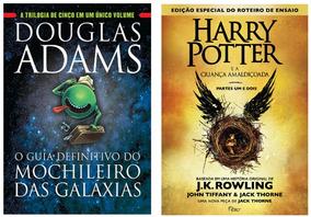 Guia Definitivo Mochileiro Das Galáxias + Harry Potter 8