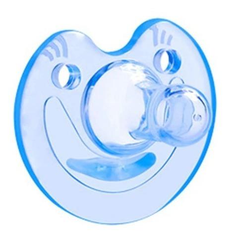 Chupeta De Silicone Calmante Bico +3 Meses Flexível