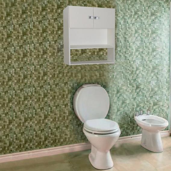 Unico Mueble Sobre Inodoro Colgante- Melamina. Sme 090