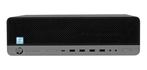 Desktop Hp 800 G4  I7 8700 - 16gb Ddr4, 256 Ssd Win 10 Pro