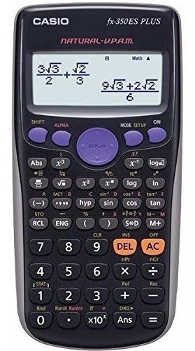 Imagen 1 de 2 de Calculadora Científica Casio Fx-350es Plus 252 Funciones