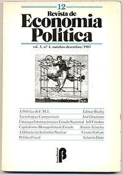 Revista De Economia Política - Vol. 3, Nº 4, Outubro-dezembr