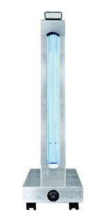 Lampara Desinfectante Led Uv-c Ozono 100m2
