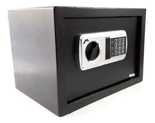 Caja Fuerte Electrónica Led Doble Pasador Bcf2218 Mitzu Full