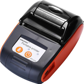 Mini Impressora Portátil Térmica 58mm Sem Fio 6 Bobinas Case