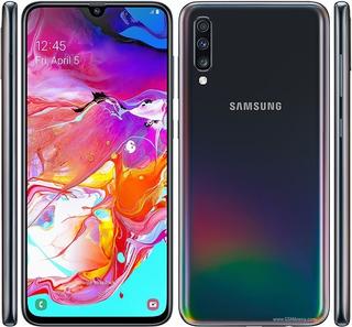 Samsung Galaxy A70 6gb/128gb+micro Sd De 128 Gb Huella Panta