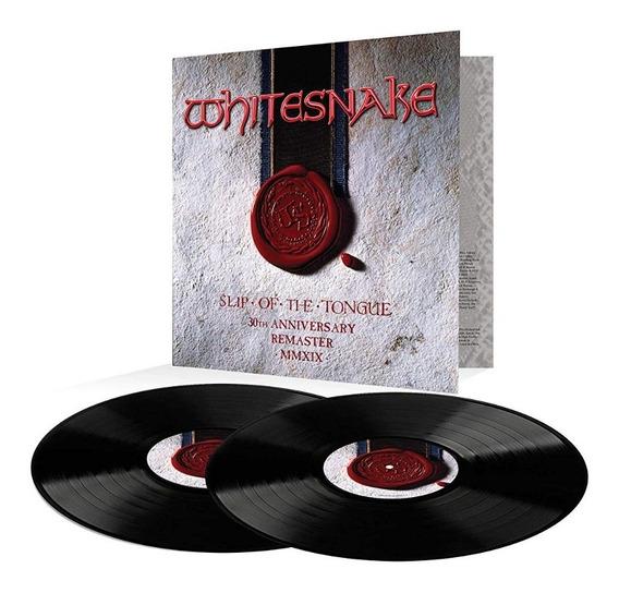 Whitesnake Slip Of The Tongue Vinilo Doble Nuevo Importado