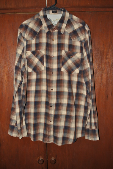 Camisa Vaquera Bullhead Talla Grande