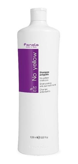 Shampoo Fanola No Yellow 1000 Ml Importado Sellado.
