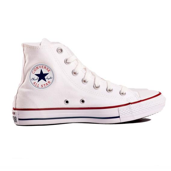 Zapatillas Converse Botitas Blancas 156999c Ctas Hi