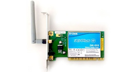 Placa De Rede Wireless D-link Dwl-g510