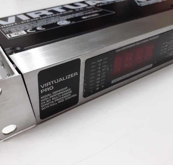 Virtualizer Pro Dsp 2024p Midi + Cabo De Ac/ Manual Na Caixa