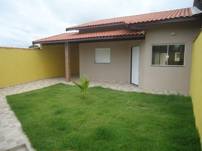 Casa Nova A 800 Metros Da Praia - Jd Palmeiras - Ref.699