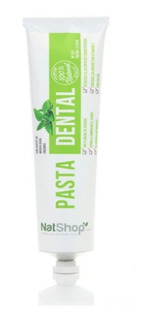 Pasta Dientes Orgánica Natural Sin Fluor Pasta Dental Natsho