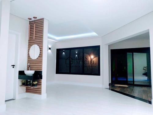 Imagem 1 de 8 de Casa Com 3 Suítes À Venda, 265 M² Por R$ 1.750.000 - Swiss Park - Campinas/sp - Ca0172