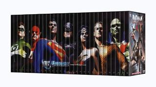 Dc Comics Animated 10 Aniversario 30 Dvds Batman Titans