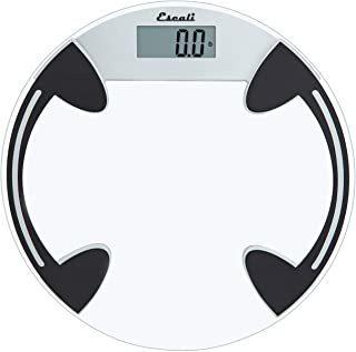 Escali B180rc Classic Glass Bathroom Body Scale, Lcd Digital