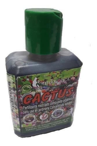 Fertilizante (abono) Para Suculentas, Sábilas Y Cactus 120ml