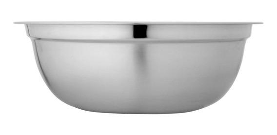 Bowl 19cm Liviano Acero Inoxidable Reposteria Ensaladera